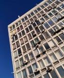 Поверхность небоскребов на предпосылке голубого неба Стоковое Фото