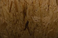 Поверхность отжатой древесин-брея плиты сделанной из остаток обрабатывать дерева стоковое фото