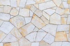 Поверхность песчаника в коричневом цвете различных картин желтом Стоковое Изображение