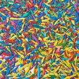 Поверхность покрытая с обломоками графита карандаша Стоковое Изображение