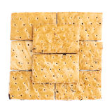 Поверхность покрытая с печеньями шутихи Стоковое Изображение RF