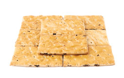 Поверхность покрытая с печеньями шутихи Стоковые Изображения RF