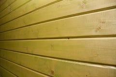 Поверхность пустой зеленой деревянной предпосылки Стоковое Изображение