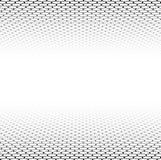 Поверхность решетки перспективы шестиугольная иллюстрация вектора