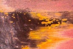 Поверхность ржавого утюга с обмылками старой предпосылки текстуры краски Стоковые Фотографии RF