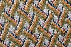 Поверхность сделанного по образцу ковра Стоковые Изображения