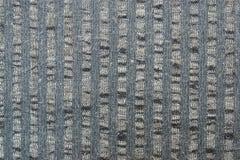 Поверхность серой striped ткани Стоковое Изображение RF