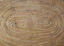 Поверхность структуры деревянная плетеная Стоковое Фото