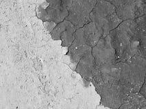 Поверхность сухого треснутого конца-вверх земли Стоковая Фотография