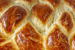 Поверхность сладостного заплетенного хлеба стоковая фотография