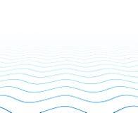 Поверхность текстурированная перспективой волнистая иллюстрация штока