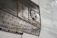Поверхность текстуры старого воздушного судна Стоковое Фото