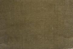 Поверхность ткани предпосылки хаки Стоковая Фотография RF