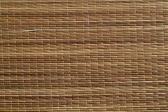 Поверхность циновки соломы Стоковое Изображение RF