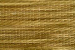 Поверхность циновки соломы Стоковая Фотография RF