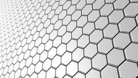 поверхность шестиугольных плиток Стоковая Фотография RF