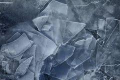 Поверхность льда Стоковые Изображения RF