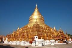 поверхность shwedagon pagoda Стоковое Фото