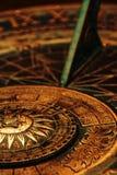 поверхность sundial Стоковое Фото