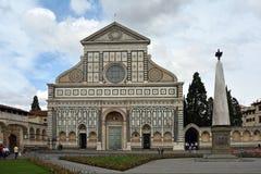 Повесть Santa Maria базилики в Флоренсе - Италии Стоковое Изображение