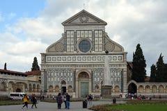 Повесть Santa Maria базилики в Флоренсе - Италии Стоковые Изображения RF