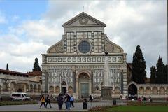 Повесть Santa Maria базилики в Флоренсе - Италии Стоковое Фото
