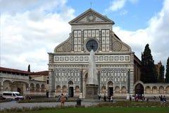 Повесть Santa Maria базилики в Флоренсе - Италии Стоковое фото RF