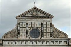 Повесть Santa Maria базилики в Флоренсе - Италии Стоковое Изображение RF