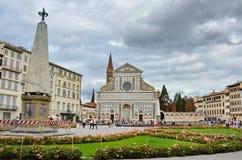 Повесть Santa Maria в Флоренсе Стоковые Изображения