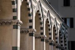 повесть santa maria фасада церков Стоковые Фото