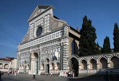повесть santa maria фасада церков Стоковое фото RF