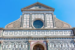 Повесть Santa Maria церков в Флоренсе, Италии Стоковая Фотография