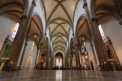 повесть santa maria церков Стоковое Изображение RF