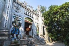 Повешенные короля Висок Phu Tho Стоковые Изображения