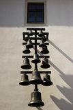 Повешенные колоколы Стоковые Фотографии RF