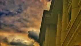 повелительница lourdes церков наш Стоковые Фотографии RF
