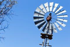 Повороты ветрянки в Cradock Стоковое фото RF
