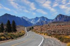 поворот дороги виллиса туристский Стоковые Изображения RF