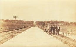поворот дороги столетия строителей Стоковая Фотография RF