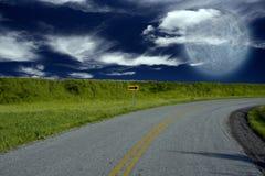 поворот дороги Стоковое Изображение