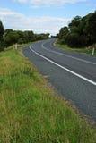 поворот дороги стоковое фото rf