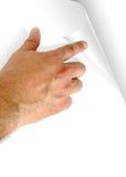 поворот страницы Стоковая Фотография RF