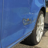 повреждение автомобиля тела Стоковые Фотографии RF