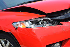 Повреждение автомобиля Стоковые Фото