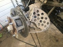 Повреждение к тормозной системе ATV Стоковое Фото
