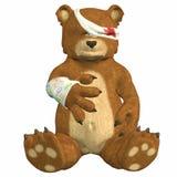 повреждение медведя иллюстрация вектора