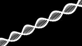 Повреждение молекулы ДНК перевод 3d иллюстрация вектора