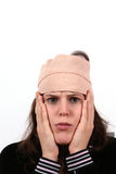 повреждения головки Стоковое Фото