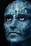 Поврежденная маска кожи Стоковое фото RF