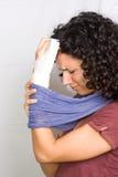 поврежденная рука Стоковая Фотография RF